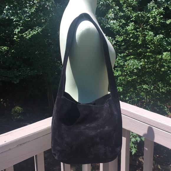 Bottega Veneta Handbags - Bottega Veneta Black suede hobo